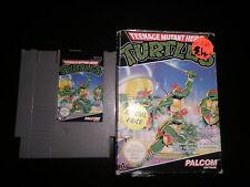 Nintendo Nes-Teenage Mutant Hero Turtles-en Caja