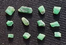 Lot d'émeraude brut Autriche 5,35ct emerald gemstones rare beryl mineral austria