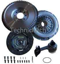 FORD MONDEO 130BHP TDCI 5 SPEED SOLID FLYWHEEL AND CLUTCH KIT WITH CSC BEARING