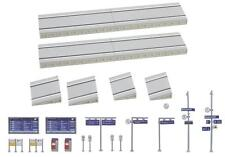 NEW N scale Faller 222111 Modern Station Platform with Accessories KIT