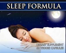 Sleeping Pills Tablets Deep Sleep Formula Insomnia Stress Strong 60 Capsules #1