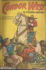 ALBO D'ORO #  150-CONDOR WEST IL FUORILEGGE-CAVALIERE ROSSO-26 MARZO  1949