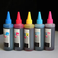 5 Color Refill Bulk Ink for printers that use   78 79 & 98 ink (500ml)