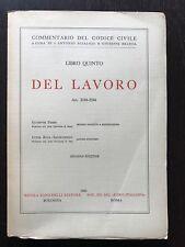 DEL LAVORO Art. 2188-2246 - Giuseppe Ferri; Luisa Riva-Sanseverino codice civile