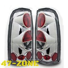 Clear Chrome Altezza Tail Light fit 99-06 Chevy Silverado 99-03 Gmc Sierra