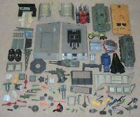 Lot GI Joe Cobra 1980s Accessory Part Piece Vehicle Playset Headquarters Mobat