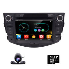 For Toyota RAV4 Touch Screen GPS Navigation Car Radio DVD Player 1080P+free maps