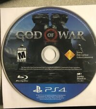 God of War 4  (PlayStation 4 , PS4, 2018) Game Disc Only