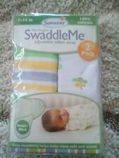 The Original Swaddle Me Adjustable Infant Wrap in Size S/M By Summer Infant