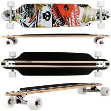 Longboard Orig. FunTomia® 9 Lagen Ahornholz - Freerider Cruiser Skate Board 1946