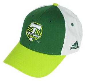 Adidas MLS Portland Timbers Kids (4-7) Basic Structured Adjustable Hat, OSFM