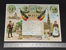 CHROMO 1890-1900 AU BON MARCHE BOUCICAUT PARIS BELGIQUE BELGIË BRUXELLES BRUSSEL