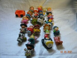 Fisher Price Little People  Lot of 20  Pcs Random animals figures people vehicle