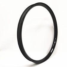 29er Carbon MTB Rim 50mm Wide Bicycle Carbon Rim Tubeless&Hookless 3K glossy