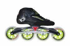 Rollerblade Powerblade GTR 110 Black/Green Mens Inline Skates UK 8