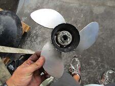Yamaha 15hp 2-stroke outboard aluminum propellor