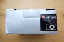 Leica D-LUX D-LUX 6 10.1MP Digital Camera - Black Boxed