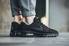 Nike Air Max 2017 849559-004 Black/Black/Black Mens Sz 9
