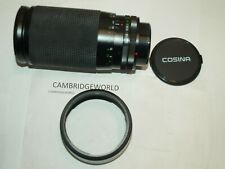 70-210mm F2.8-4.0  MACRO ZOOM LENS NEW for CANON FD AE MOUNT CAMERAS & LENS HOOD