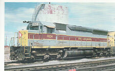 Erie Lackawanna  #3624   EMD  SD45   Sloan NY   Photo 1976  Reprint  PC RR  33