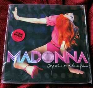 MADONNA PROMO CONFESSIONS VINYL LOW #23 UNSEEN PERFORATED ORIGINAL SEAL RECORD