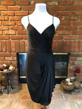 Designer BCBG sz S NWT - Black Ruched Versatile Cocktail EVENT Party Dress