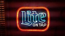 Lite on Tap Beer Neon Light Vintage Sign