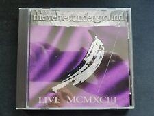The Velvet Underground - Live MCMXCIII - CD (1993 Sire Warner U.S.A.)