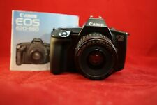 Canon EOS 650 35mm SLR Film Camera with Canon EF 35-80 mm Lens  WORKS GREAT!