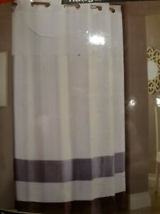 Hookless® 71-Inch x 74-Inch Shower Curtain and Liner in Amethyst new free ship