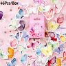 46Pcs Butterfly Stickers Stationery Sticker Diary Scrapbooking Chic