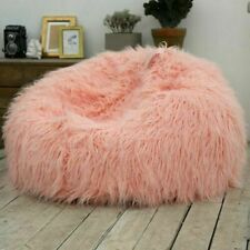 Lazy Bean Bag Cover Soft Cozy Sofa Seat Furniture Chair Home Living Room Deco