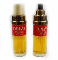 Coty L'aimant Parfum de Toilette, 2 Spray Testers 1.8 Fl Oz