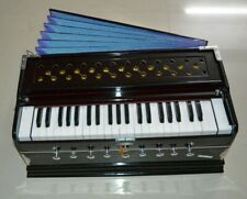 Set 4 Style Harmonium 9 Bouchon Chudidaar Bellow 42 Clé Deux Roseau Basse Mâle