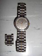 ORIENT Quartz Quarz Armbanduhr, Uhr, Herrenuhr, Damenuhr mit Ersatzgliedern, Top