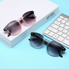 Stylish gradient gray round Tint color reading glasses Unisex reader Sunglasses