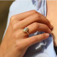 Labradorite  Ring 925 Sterling Silver Band  Ring Anxiety Silver Ring Women Ring