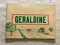 1960s Children's Reader - GERALDINE California Dairy Council Vintage Kids Book