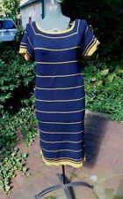 VINTAGE 1960's LISA ROSS CALIFORNIA THICK KNIT SKINNY SWEATER DRESS JUNIOR PETIT