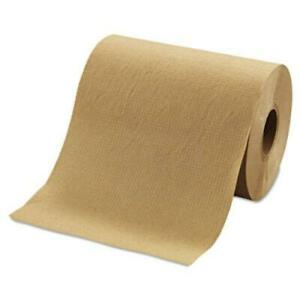 """Morcon R12350 Hardwound Roll Towels, 8"""" X 350ft, Brown, 12 Rolls/carton"""