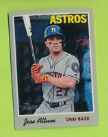 2019-Topps-Heritage Chrome - Jose Altuve (THC-409)  Houston Astros   #/999