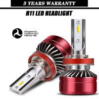 LED Headlight Kit H11 6000K White Low Beam Bulb for TOYOTA Tacoma 2016-2019 EG37
