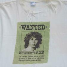 Vintage The Doors Shirt Xl Jim Morrison Wanted Cancelled 1969 Tour Double Sided