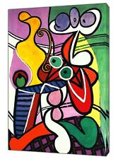PABLO PICASSO NUDE AND STILL LIFE PAINT  REPRINT ON FRAMED CANVAS WALL ART DECOR