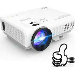 DR. J Professional P68 1080p supported Home Theater Projector 4200 Lux NEW COND.