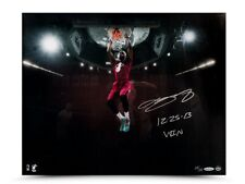 "LeBron James Signed Autographed 16X20 Photo ""12-23-13 Win"" Christmas Jam /25 UDA"