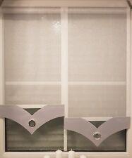 Mehrfarbige gardinen und vorh nge g nstig kaufen ebay for Moderne scheibengardinen
