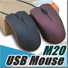 Lenovo M20 USB Optical Mouse Mini 3D Wired