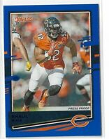 2020 Panini Donruss football Blue press proof photo Variation #57 Khalil Mack