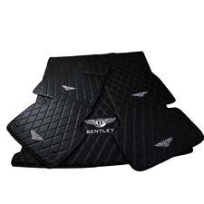 Interior Car Floor Mats + Cargo Fits 2017 - 2021 Bentley Bentayga - Customizable